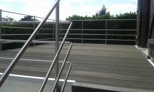terrasse aluminium