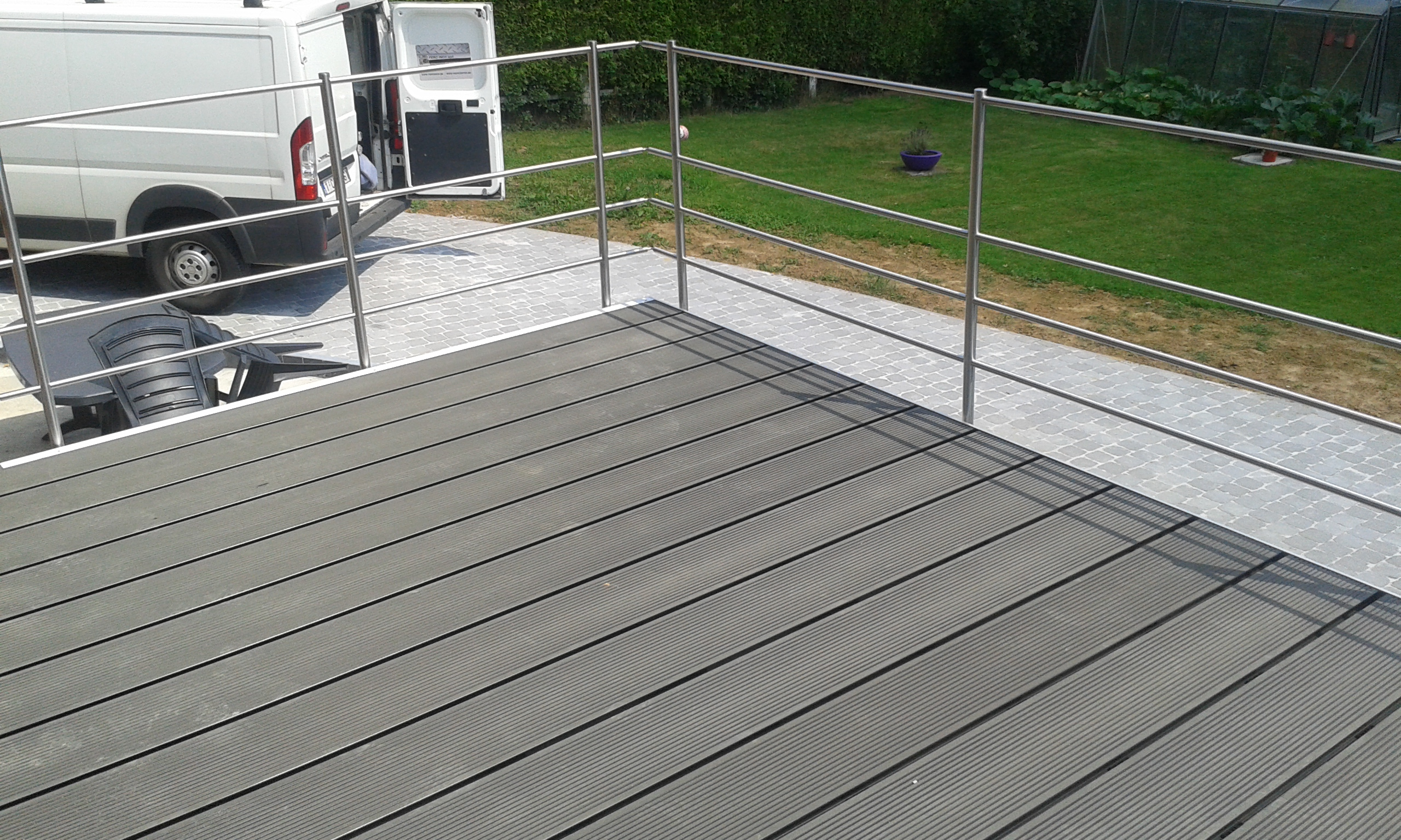 terrasses feroinox gardes corps balustrades escaliers namur et charleroi. Black Bedroom Furniture Sets. Home Design Ideas
