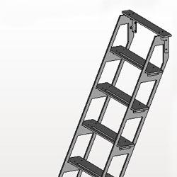 escalier echelle Spring 2