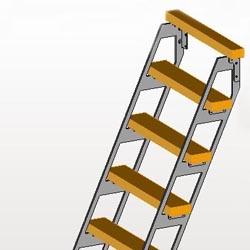 escalier echelle Spring 3