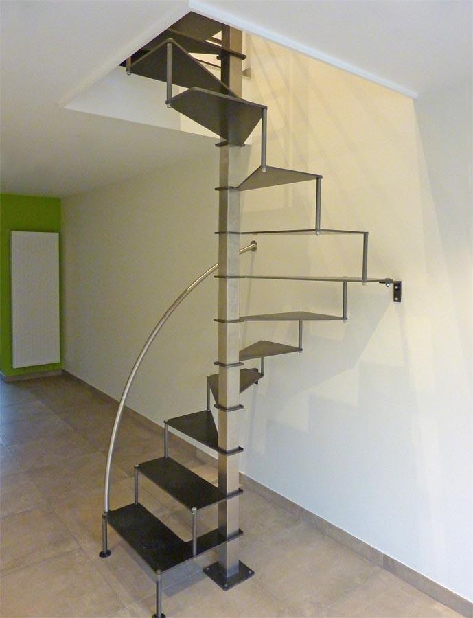 escalier helicoidale espace r u00e9duit