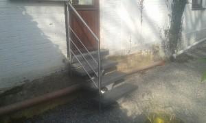 escalier sppirwill aluminium avec marche syntetique (3)